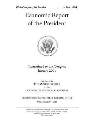 Economic Report of the President, 2001