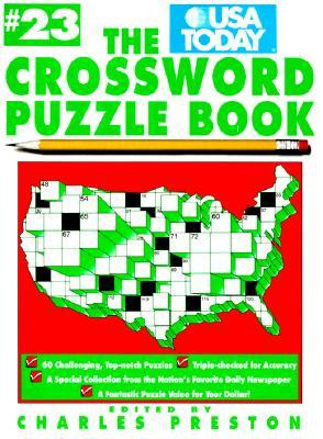 The Usa Today Crossword Puzzle Book 23 By Charles Preston