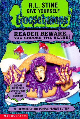 Beware of the Purple Peanut Butter by R.L. Stine