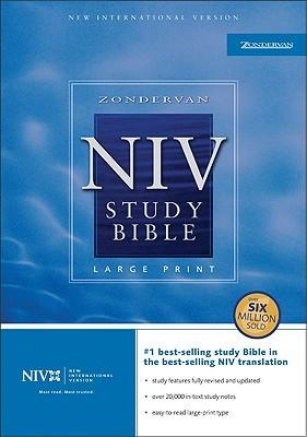 Holy Bible: Zondervan NIV Study Bible, Large Print
