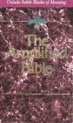 The Amplified Bible: Unlocks subtle shades of Meaning (ePUB)
