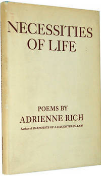necessities of life by adrienne rich