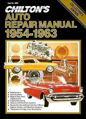 Chilton's Auto Repair Manual 1954-63