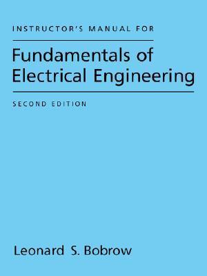 Fundamentals Of Electrical Engineering Leonard S Bobrow Pdf