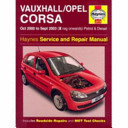 Vauxhall/Opel Corsa Petrol And Diesel Service And Repair Manual