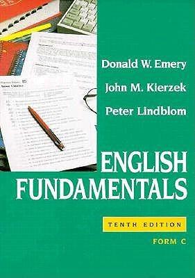 English Fundamentals, Form A