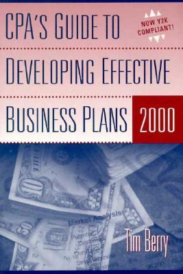 CPA's Guide to Developing Effective Business Plans 2000 [With CDROM]
