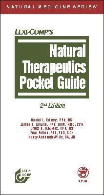 Natural Therapeutics Pocket Guide