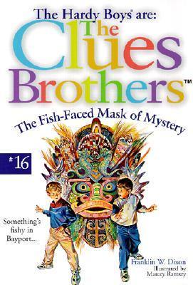 The Fish-faced Mask of Mystery (Hardy Boys: Clues Brothers, #16)