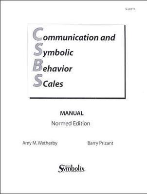 CSBS Manual: Communication and Symbolic Behavior Scales