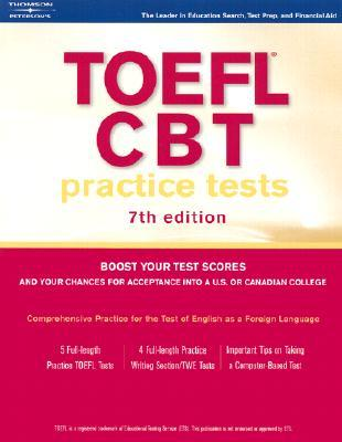 TOEFL CBT Practice Tests w/o Audio 2004