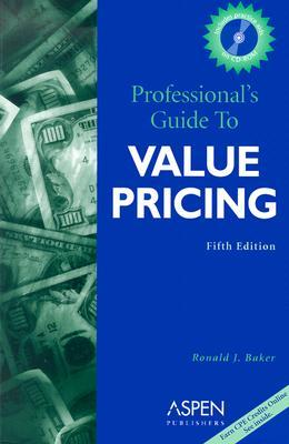 professional s guide to value pricing by ronald j baker rh goodreads com Cake Servings and Pricing Pricing Question