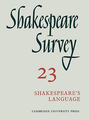 Shakespeare's language, vol. 23 by Kenneth Muir