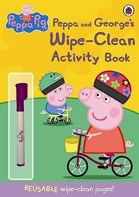 Peppa And George's Wipe Clean Activity Book