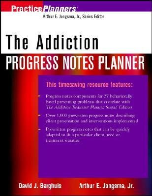 The addiction progress notes planner by david j berghuis fandeluxe Image collections