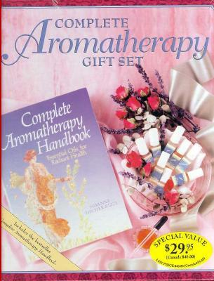 Complete Aromatherapy Gift Set/Includes 8 Pure Essential Oils, Eyedropper and Complete Aromatherapy Handbook