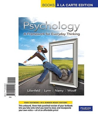 Psychology a framework for everyday thinking by scott o lilienfeld 8845798 fandeluxe Image collections