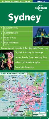 Lonely Planet Sydney City Map
