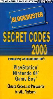 Blockbuster Secret Codes 2000: Nintendo 64, Playstation, Game Boy
