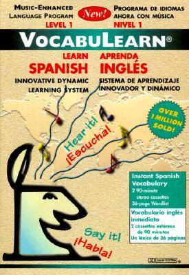 Vocabulearn : Learn Spanish Level 1/Aprenda Ingles Nivel 1: Innovative Dynamic Learning System/Sistema De Aprendizaje Innovador Y Dinamico