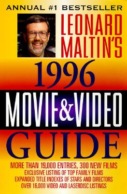 leonard maltin s movie and video guide 1996 by leonard maltin rh goodreads com leonard maltin 2015 movie guide Roger Ebert