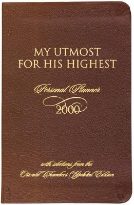 My Utmost for His Highest Daily Planner - 2000