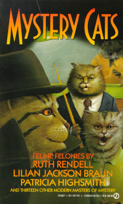 Mystery Cats: felonious felines from Ellery Queen's mystery magazine and Alfred Hitchcock's mystery magazine