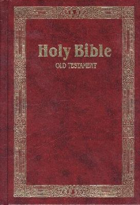 Large Print 24 Point Type Old Testmament Holy Bible King James
