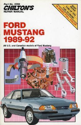 Mustang 1989-92 (Chilton's Repair Manual