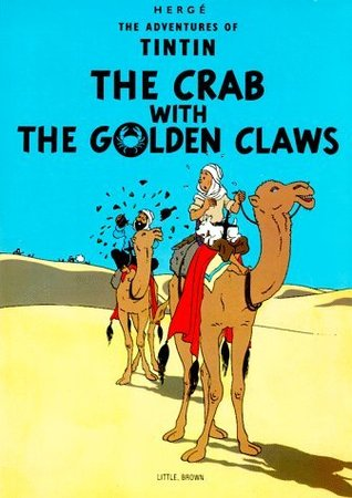 Image result for the crab with the golden claws goodreads