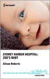 Zoe's Baby (Sydney Harbor Hospital #2)