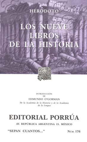 Los nueve libros de la historia (Sepan Cuantos, #176)