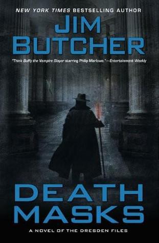 Death Masks by Jim Butcher