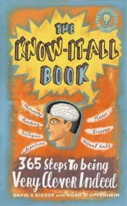 The Know It All Book by David S. Kidder