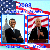2008 First Presidential Debate: Barack Obama and John McCain 9/26/08