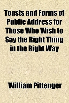 Toast And Forms Of Public Address
