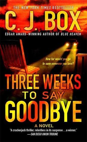 Three weeks to say goodbye goodreads giveaways
