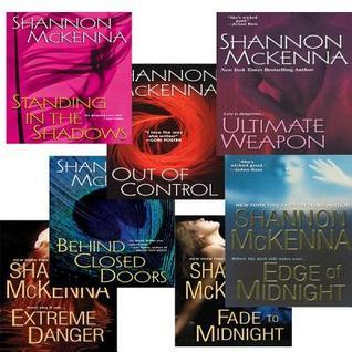 Shannon Mckennas McCloud Brothers Bundle: Fade to Midnight, Behind Closed Doors, Standing in the Shadows, Out of Control, Edge of Midnight, Extreme Danger & Ultimate Weapon(McClouds & Friends 1-7)
