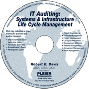 IT Auditing: Systems and Infrastructure Life Cycle Management