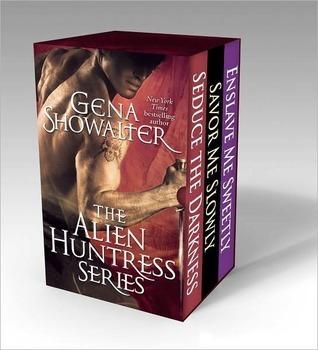 The Alien Huntress Series: Enslave Me Sweetly, Savor Me Slowly, Seduce the Darkness (Alien Huntress, #2-4)
