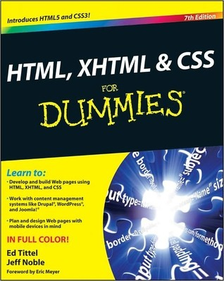 HTML, XHTML & CSS For Dummies by Ed Tittel