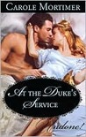 At the Duke's Service (The Notorious St. Claires, #0.5)