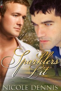 Sparklers Lit by Nicole Dennis