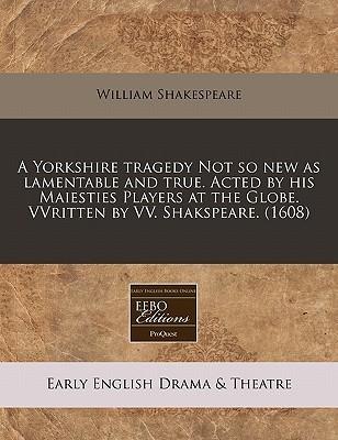 Pdfbooks A Yorkshire Tragedy 1608 Pdf Epub By William