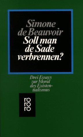 The Marquis de Sade by Simone de Beauvoir