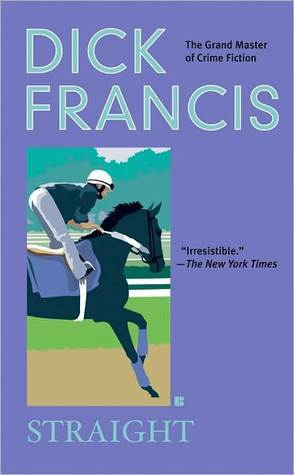 book cover: Straight, by Dick Francis