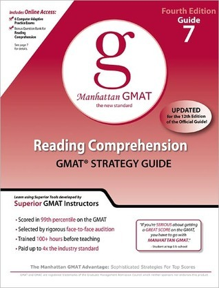 Reading Comprehension GMAT Preparation Guide 4th Edition By