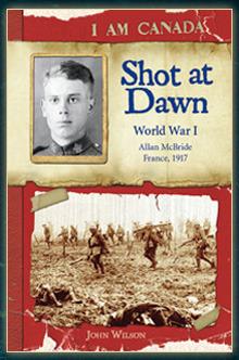 Shot at Dawn: World War I, Allan McBride, France, 1917
