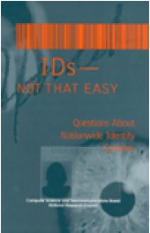 IDs -- Not That Easy: Questions About Nationwide Identity Systems