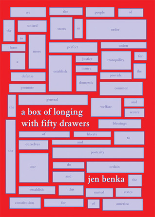 A Box of Longing with 50 Drawers by Benka